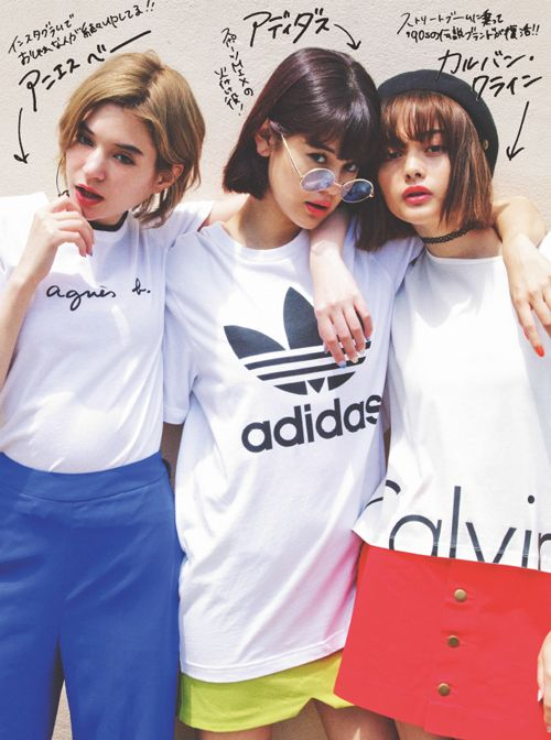 vivi8月号,ViViモデル,瑛茉ジャスミン,emma,玉城ティナ,ファッション,Tシャツ