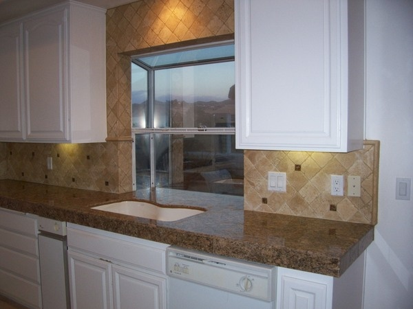 color for kitchen cabinets travertine backsplash home is where your is 5539