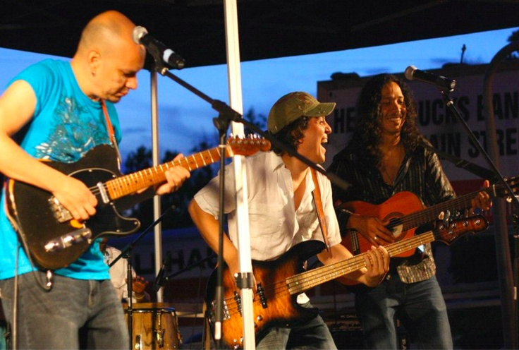 Markham Village Music Festival - Jimmy Kiddo, Richard Morales and Tury Morey.