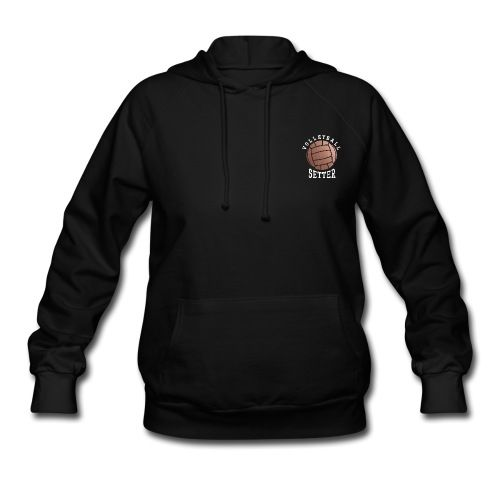 Rose Gold Volleyball Setter - Women's Hoodie