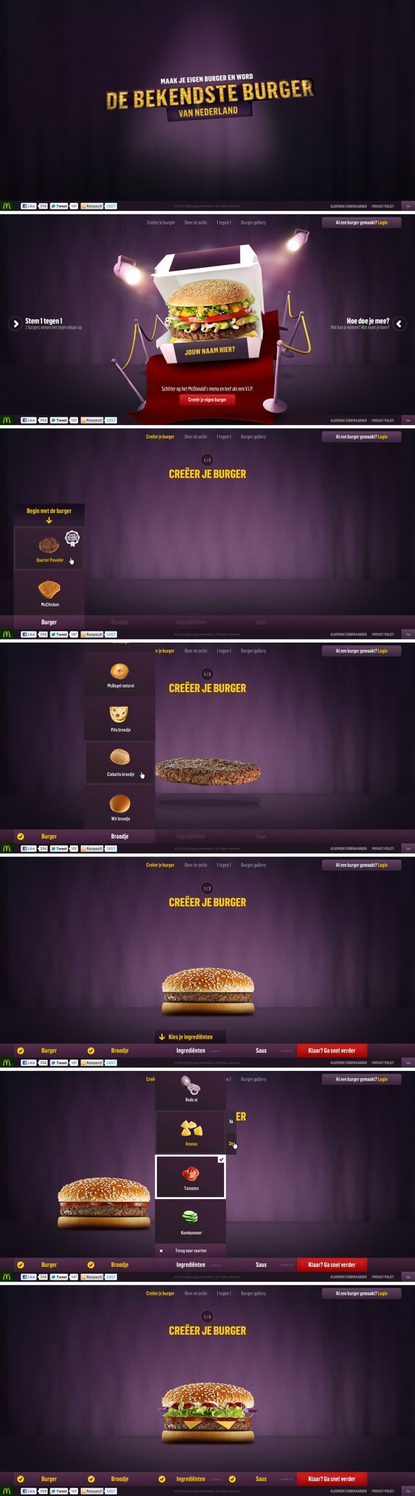 McDonald's - De Bekendste Burger van Nederland on Behance