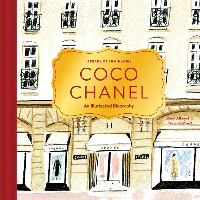 """Capa do livro """"Coco Chanel"""" (Foto: Divulgação)"""