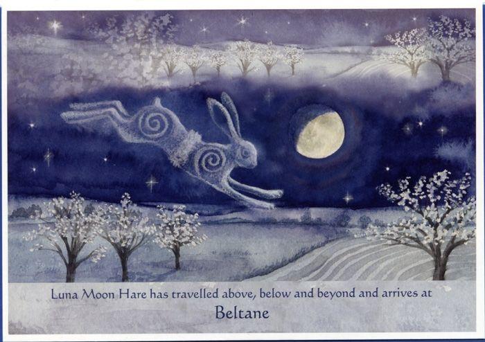 Luna Moon Hare has arrived at Beltane