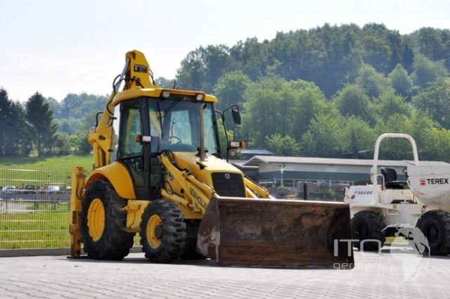 http://www.ito-germany.es/de-ocasion/excavadoras/retroexcavadora Retroexcavadora de segunda mano New Holland LB110. Bagger Digger. Pelle.  Koparka  #Retroexcavadora #Retroexcavadora_ruedas #New_Holland #LB110 #New_Holland_LB110 #Maquinaria_construccion #JCB