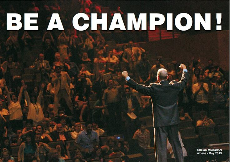 What does it take to be a Champion? Desire,Dedication,Determination, Concentration and the will to win.#myforeverdream
