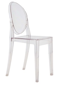 victoria ghost chair, philip stark
