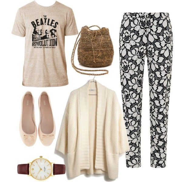 A fashion look from February 2015 featuring Madewell cardigans, Reiss pants and Oasis flats. Browse and shop related looks.