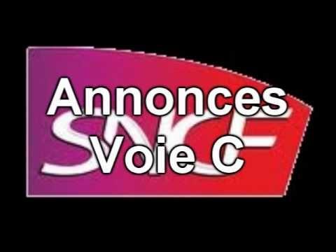 Annonces SNCF en gare de Caen - YouTube
