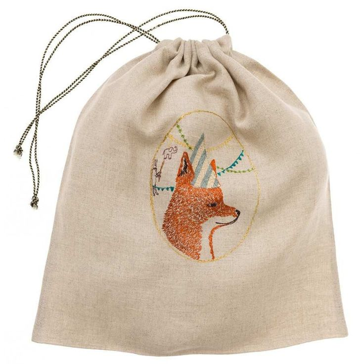 Birthday Party Fox Gift Bag - Large