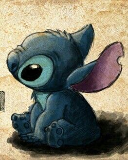 He is so adorable! Stitch is my favorite!