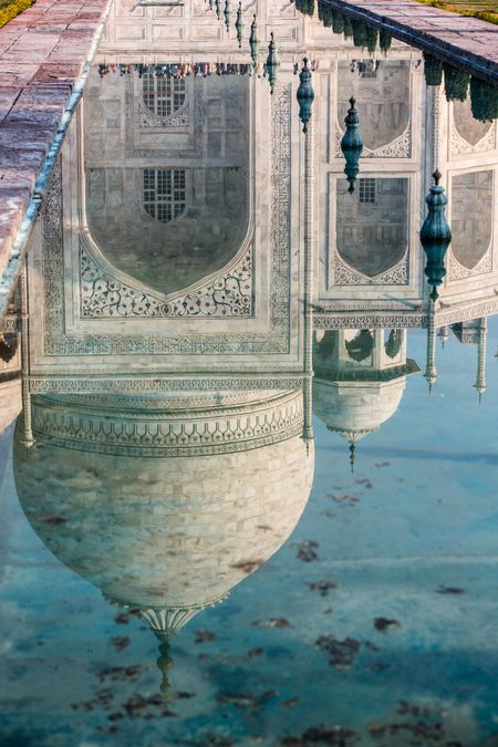 TAJ MAHAL Photo by Tarek Touma -- National Geographic Your Shot