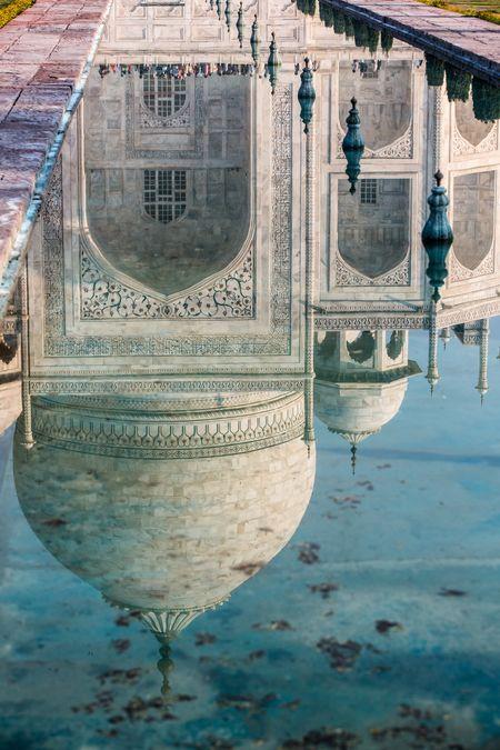TAJ MAHAL Photo by Tarek Touma -- National Geographic Your Shot