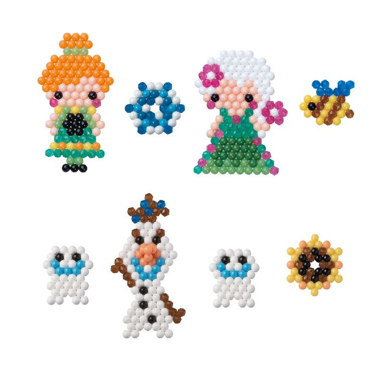 AQUABEADS Die Eiskönigin: Party-Fieber Set Kinder Perlen Bastelset 30069 NEU 2