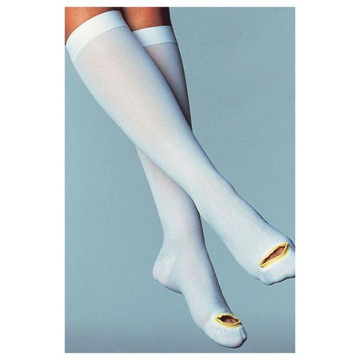 Jobst Anti-embolism Stockings Anti-Em/GP Knee-high Open Toe 18 mmHg | Jobst #111402 #medical #medicalsupplies #pro2medical #health #healthcare #lifestyle #Lubbock  #compression #body #fitnessfreak