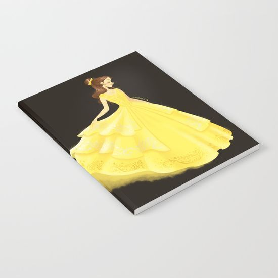 Golden Beauty Notebook