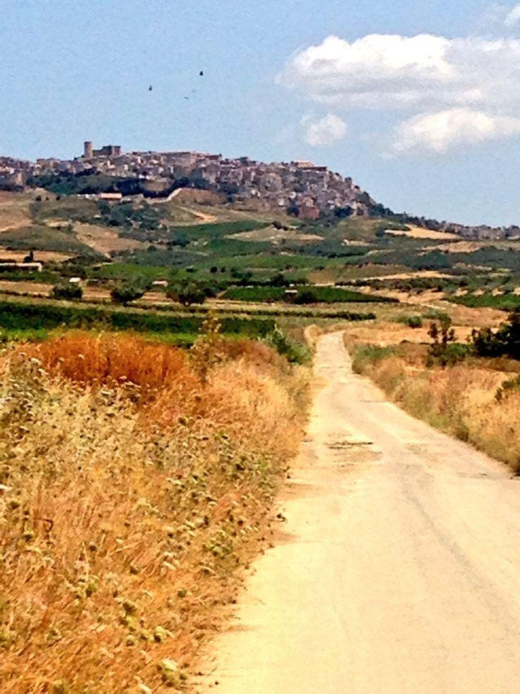 Road to Salemi, Sicily