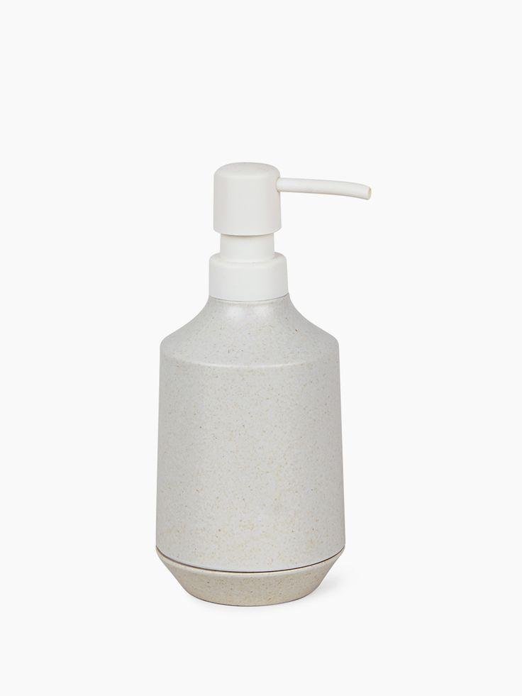Porta Sabonete Líquido Branco