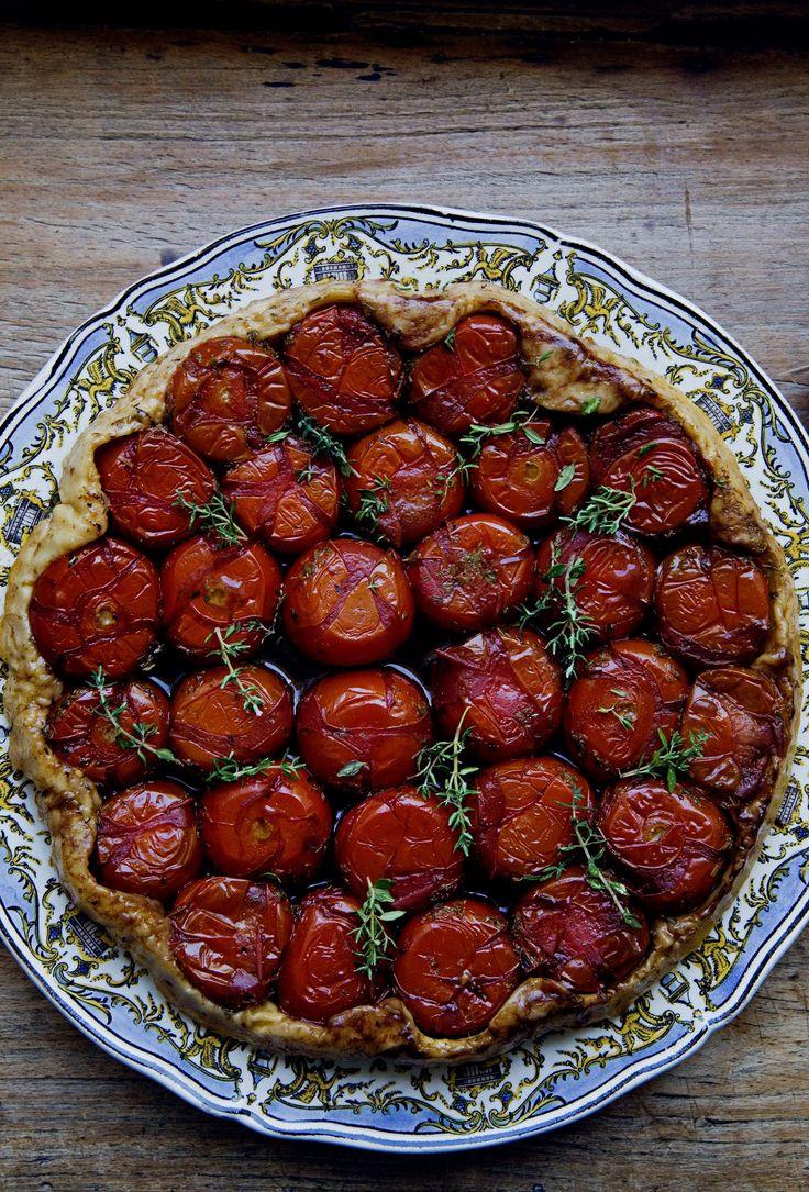 Tomato Tart Tatin by mimithorisson #Tomato_Tart