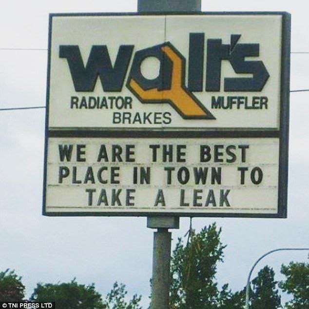 Auto puns  #funnysigns #humor #cars #breaks #automobile #vehicle #car #driving #mechanic #autorepair #carrepair #auto #autoparts #signage #sign #signs #esigns #humor #funny #puns #lol #witty #joke #creative #laugh #haha