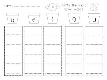 Spring Plants & Flowers Literacy, Math, and Science Centers Unit $6.50 In this unit, you will find 79 pages of math & literacy, science, and writing center activities and printables including:  capital/lowercase letters writing prompts dice games counting games Addition Subtraction I have who has sight word game I have who has number game playdough mats number order alphabetic order patterns roll & race to 100 write the room sight word center popcorn sentence center worksheet CVC Center…