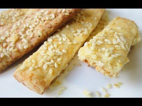 Печенье с сыром тонкое, хрустящее, соленое. Простой рецепт для начинающих #domavkusno. - YouTube