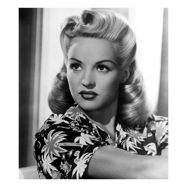 Vintage Hairstyles Victory Rolls Tutorial ❤ liked on Polyvore