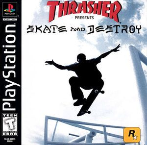 Complete Thrasher: Skate and Destroy - PS1 Game
