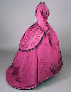 Day dress, ca. 1869, owned by Nellie Grant-the third daughter of Ulysses S. Grant. They want $1300 at auction.