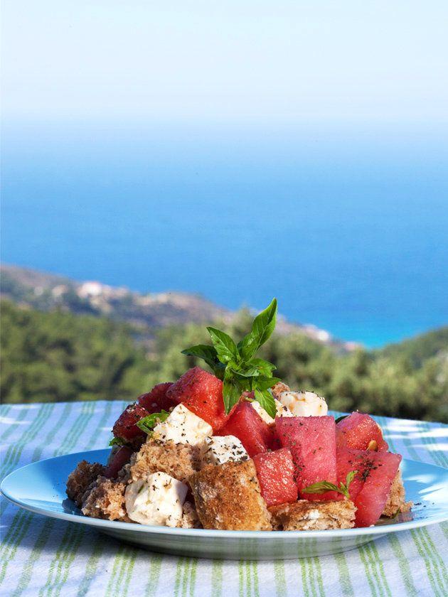 【ELLE a table】スイカとフェタチーズのサラダレシピ エル・オンライン
