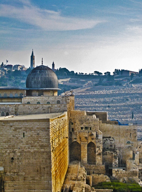 Al-Aqsa Mosque is the third holiest site in Islam and is located in the Old City of Jerusalem