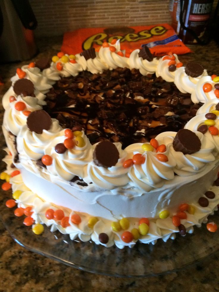 I made an ice cream cake once from www.allrecipes.com that became a family favourite and often requested at bbq's. This weekend my family is having one of those mentioned barbecues, and I of …