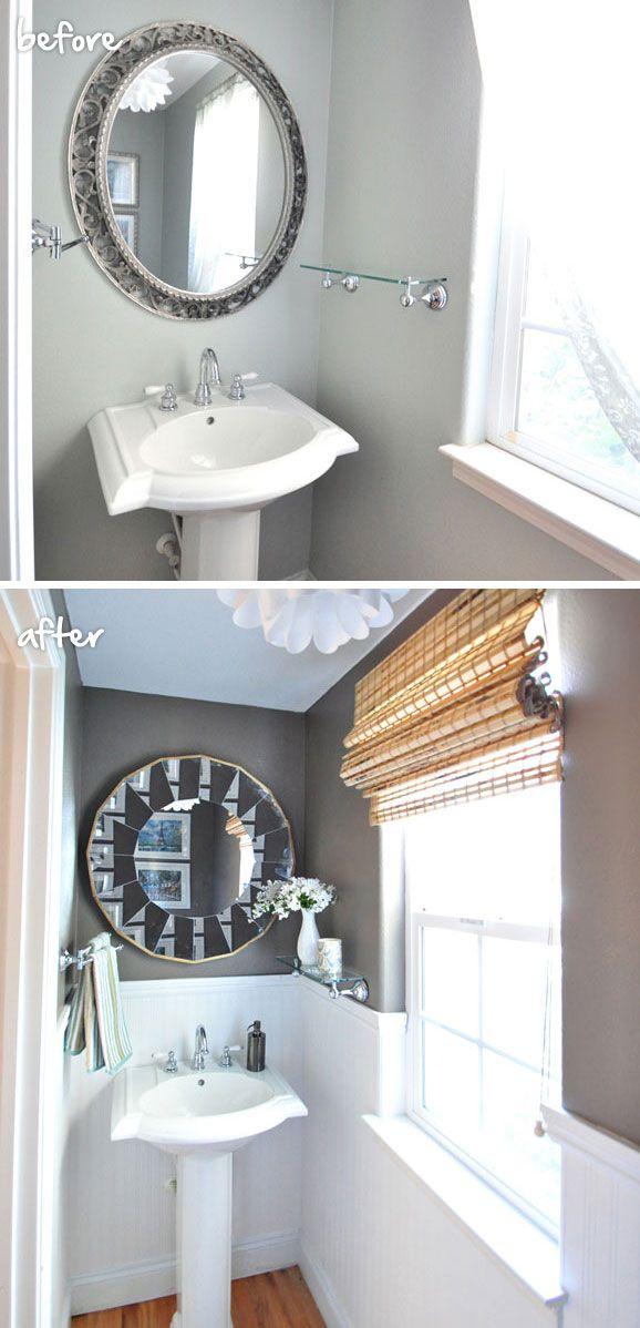 Small Bathroom Quick Makeover 45 best bathrooms images on pinterest | bathroom ideas, bathroom