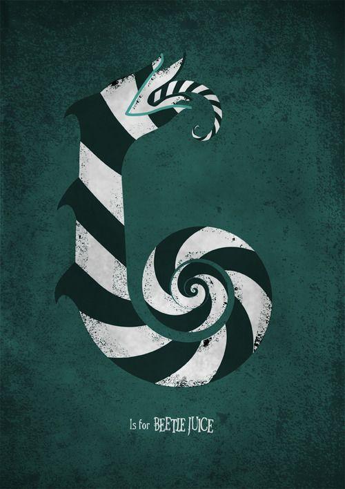 Meagan' s Movie Alphabet: Beetlejuice #movies #posters