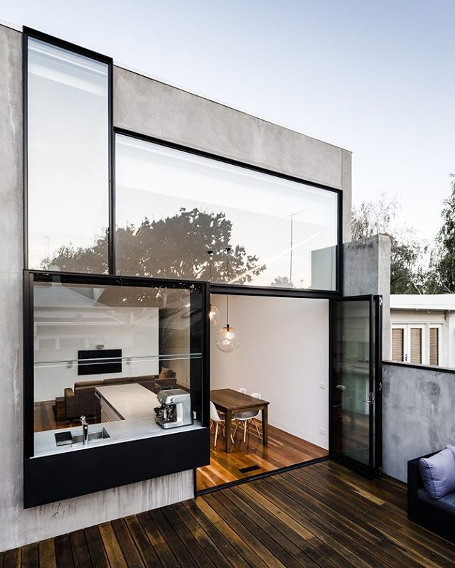 Turner House Designed by Freadman White Architect's, In Melbourne, #australia  @dopedecors