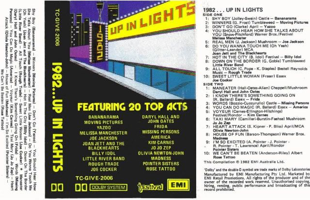 1982....Up in Lights