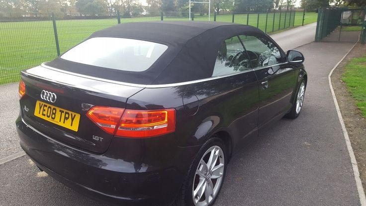 AUDI A3 1.8 tfsi SPORT cabriolet convertible ☆ low miles: £4,500.00 End Date: Tuesday Mar-20-2018 18:14:46 GMT Add to watch list