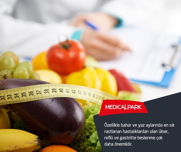 Özellikle bahar ve yaz aylarında en sık rastlanan hastalıklardan olan ülser, reflü ve gastritte beslenme çok daha önemlidir. http://www.diyetnedir.net/hastaliklarda-beslenme/?utm_source=365pinterest&utm_medium=365sm-pin&utm_campaign=beslenme #beslenme