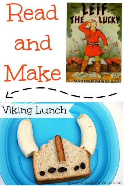 Read and Make Viking Lunch