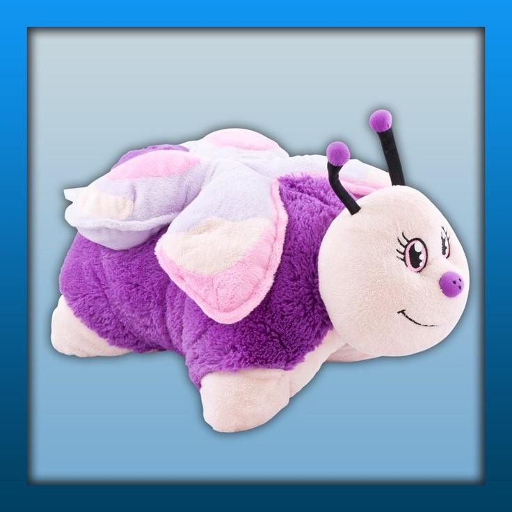 Pink Butterfly Pillow Pets!   Http://www.pillowpets.co. SchmetterlingeKissen  HaustiereButterfly ...