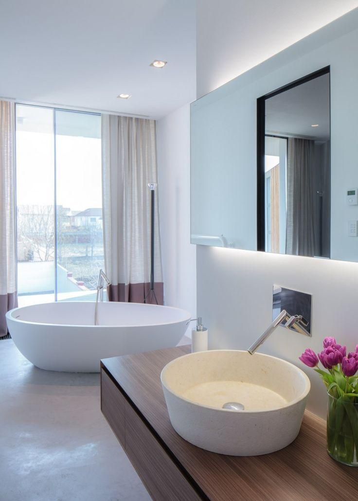 Die besten 25+ Marmorbäder Ideen auf Pinterest Carrara-marmor - freistehende badewanne einrichten modern