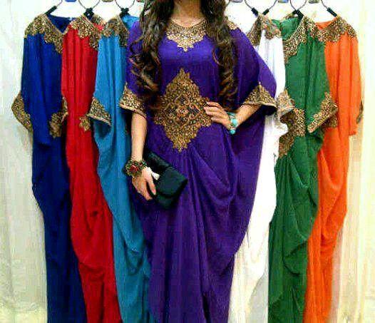 $129 Caftan Tunic LONG dress style k10