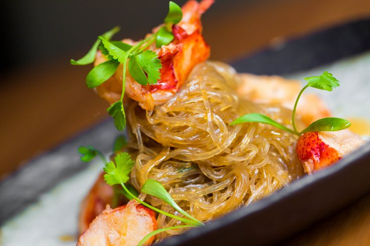 One of our 'One Dish Wonders from our lunch menu:  Lobster Cellophane Noodles  www.houseofho.co.uk