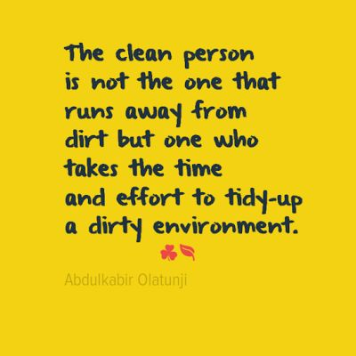 Best  Cleanliness Quotes Ideas On   Excellence Quotes