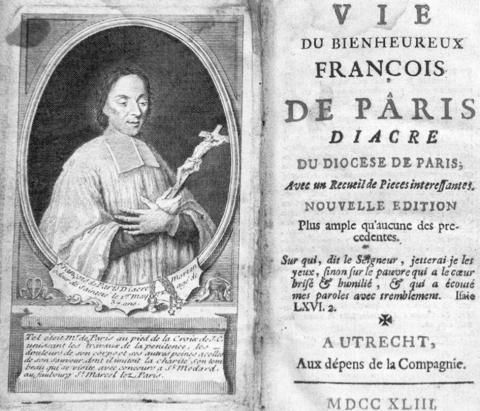 L'image du diacre Pâris: portraits gravés et hagiographie