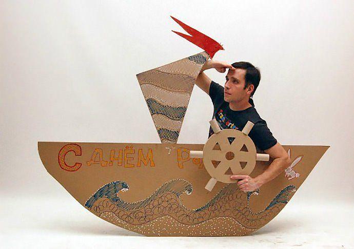 ¡El Barco Pirata! http://blog.cajadecarton.es/juguetes-carton-cardboard-dad/?utm_source=Pinterest&utm_medium=social&utm_campaign=20160616-juguetes_cartonblog