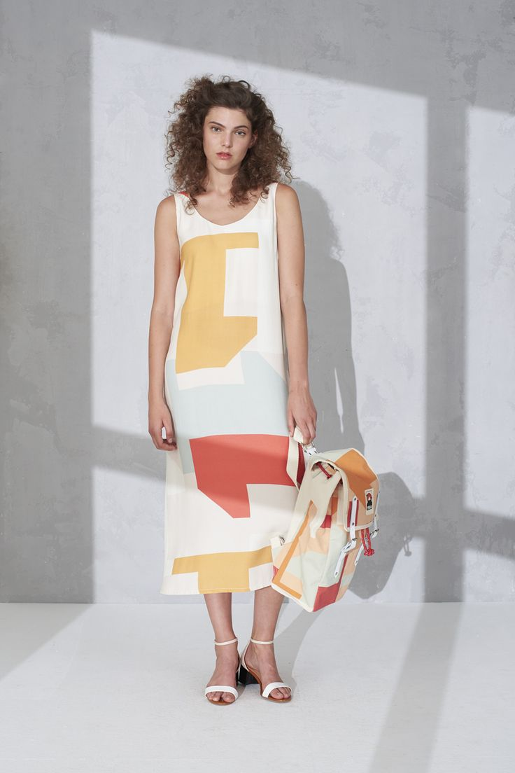 LAJOS V-neck dress by Tomcsanyi