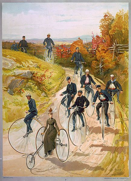 My ancestor invented the bicycle..... 'Daft Pate' Macmillan of Courthill Smithy, Pioneer of the Pedal-Driven Bicycle ..