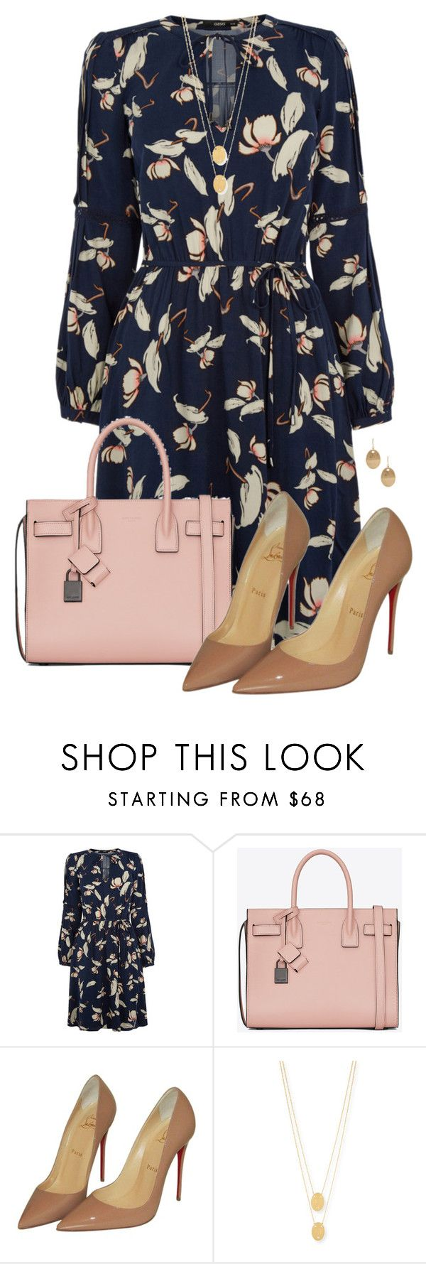 Simplicity by missdoolittle on Polyvore featuring Oasis, Christian Louboutin, Yves Saint Laurent, Jennifer Zeuner, Kenneth Cole, women's clothing, women's fashion, women, female and woman