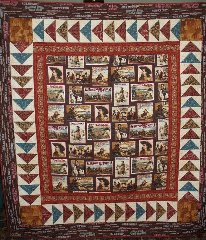 Western Quilt Patterns | Western Quilt by jojo1284713 | Quilting Ideas