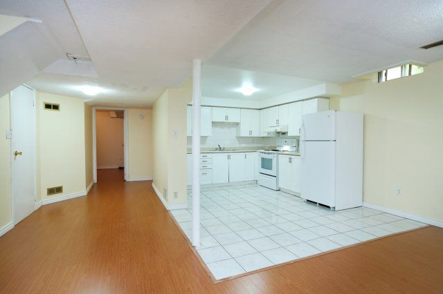 Open Concept Recreation Room / Kitchen - 2 Bedroom Basement Apartment with Separate Entrance.  www.LancasterLuxuryHomes.com